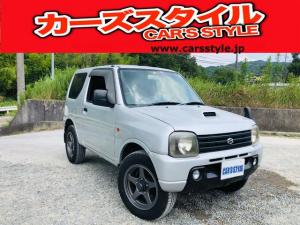 スズキ ジムニー XG 保証付き タイミングチェーン HDDナビ付 純正キーレス付き 外品アルミホイール付き 4WD ターボ車 ボタン式四駆切り替え