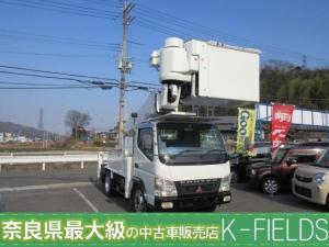 三菱ふそう キャンター  タダノ高所作業車 AT-146-TE  (ホワイト)