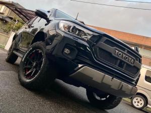 トヨタ ハイラックス Z タコマックスエアロ フロントリフトアップ デナリ18AW+ MONSTA MAD WARRIOR(285/60R18)TRDキャノピー&荷室カバー LEDヘッドライト スマートキー 純正フルセグナビ