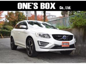 ボルボ XC60 T6 AWD Rデザイン ナビ 4WD車 軽減ブレーキ アイシン製オートマ車 1年保証