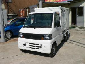 三菱 ミニキャブトラック 冷凍車 -20℃設定 Wコンプレッサー スタンバイ付