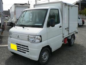 三菱 ミニキャブトラック 冷蔵冷凍車 -5℃設定 荷箱左スライドドア