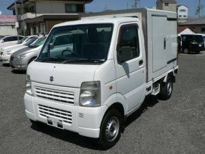 スズキ キャリイトラック 冷蔵冷凍車 -5℃設定 荷箱左スライドドア