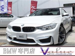 BMW M4 7DCTサキールオレンジ革純正19AW1オーナー禁煙