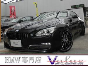 BMW 6シリーズ 640iグランクーペ ブラウンレザーコンフォートシート サイドカメラ  LEDヘッド 新品20インチアルミ   禁煙