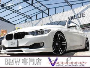 BMW 3シリーズ 320i 地デジTV・新品19インチアルミ・エアロ・禁煙車