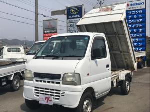スズキ キャリイトラック ダンプ 4WD MT 軽トラック ホワイト