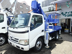 日野 デュトロ  高所作業車 タダノAT121 12m