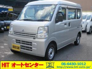 三菱 ミニキャブバン M 4速AT車 新車保証継承 ハイルーフ 4人乗り Wエアバッグ ABS エアコン ドアバイザー