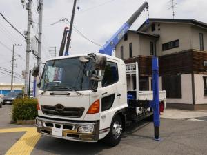 日野 ヒノレンジャー タダノ4段クレーン2.93t ハイジャッキ ラジコン ベット