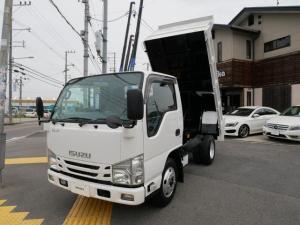 いすゞ エルフトラック 3t強化ダンプ 高床 ターボ 新明和製