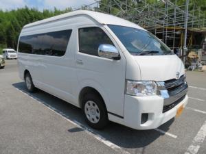 トヨタ ハイエースワゴン グランドキャビン 4WD SDナビ bluetooth対応 ETC