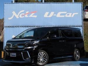 トヨタ ヴェルファイア Z Gエディション ワンオーナー 安全装備搭載 純正SDナビ