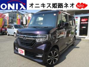 ホンダ N-BOXカスタム G・LホンダセンシングTVナビ・バックカメラ・ETC・マット
