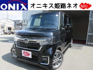 ホンダ N-BOXカスタム G・EXホンダセンシングTVナビ・バックカメラ・ETCマット
