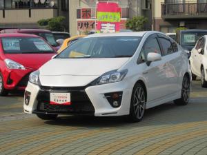 トヨタ プリウス SツーリングセレクションG's 純正SDナビ ETC