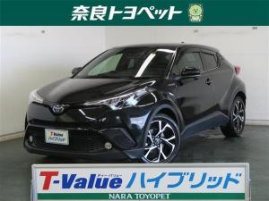 トヨタ C-HR HV G メモリーナビ ドライブレコーダー フルセグ DVD