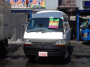 トヨタ ハイエースコミューター スーパーロングGL 15人乗り ガソリン Rクーラーヒーター