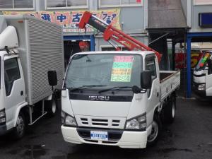 いすゞ エルフトラック 2t NOx適合ディーゼル 1t吊3段ユニック スムーサーE