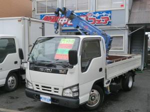 いすゞ エルフトラック 2.0t簡易クレーン 1.0t吊4段ブーム Nox適合D
