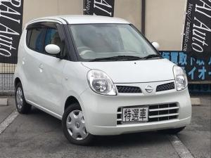 日産 モコ E 軽自動車 スノーパールホワイト AT 保証付 AC