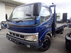 トヨタ ダイナトラック  積載車 セーフティーローダー ETC 社外ナビ リモコン メッキバンパー