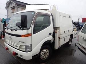 トヨタ ダイナトラック  高所作業車 ワンオーナー アイチU418 無線 ETC