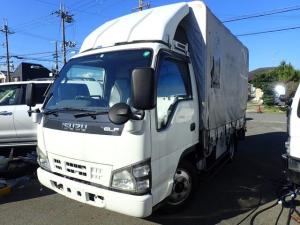 いすゞ エルフトラック  幌 パワーゲート ETC