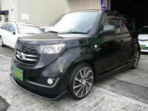 トヨタ bB Z Qバージョン HDDナビ地デジ エアロ アルミ