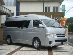 トヨタ ハイエースコミューター スーパーロングGLターボ 公認3ナンバー 9人乗りディーゼル