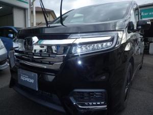 ホンダ ステップワゴンスパーダ スパーダハイブリッド G・EX ホンダセンシング当店試乗車!