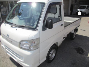 ダイハツ ハイゼットトラック エアコン・パワステ スペシャル 4WD・オートマ・パワステ・エアコン
