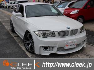 BMW 1シリーズ 116i 1Mタイプエアロ 4本出しマフラー 18インチ