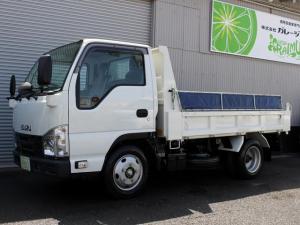 いすゞ エルフトラック ダンプ 5MT・ディーゼルターボ・全低床・キーレス・パワーウィンドウ・エアバック・最大積載量2000kg