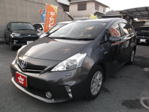 トヨタ プリウスアルファ G 純正ナビDTV バックモニター ETC オートクルーズ ワンオーナー車