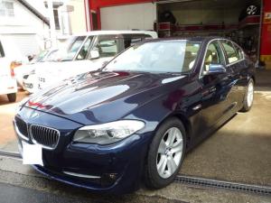 BMW 5シリーズ 528i HDDナビ ETC 革シート ローダウン