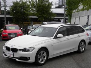 BMW 3シリーズ 320iツーリング スポーツ ナビバックカメラ 取説保証書