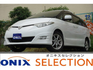 トヨタ エスティマ 2.4アエラス Gエディション 両パワ後席モニターSキー