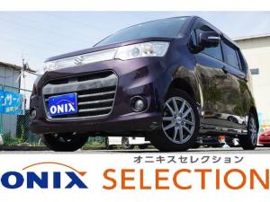 スズキ ワゴンRスティングレー T オニキスセレクション12か月保証 ターボ HDDフルセグ BT パドルシフト i stop