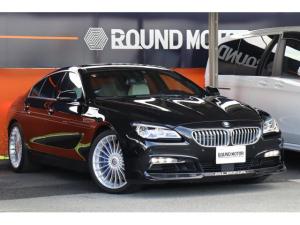 BMWアルピナ B6 ビターボ グランクーペ アルラット 1オーナー1年保証付 ・アイボリー革Pシート・シートヒータ&ベンチレータ・ガラスルーフ・フルLED・ナビ・TV・ETC・Bカメラ・CD・USB・BT・HUD・スマートキー・イージークローザー・20AW