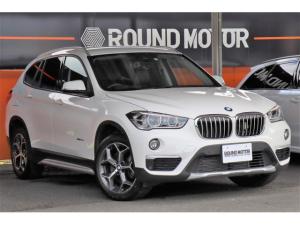 BMW X1 xDrive 20i xライン 4WD 1年保証付 ・ナビ・CD・DVD・Bluetooth・USB・ミラーETC・バックカメラ・スマートキー・Pリアゲート・ハーフレザーシート・LED・前後ソナー・18AW