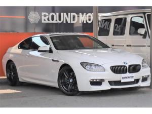BMW 6シリーズ 640iクーペ Mスポーツパッケージ 1年保証付・ナビ・ETC・Bカメラ・クルコン・ハーフレザー・シートヒーター・サンルーフ・LEDヘッド・19AW・BT・CD・DVD・AUX・アイドリングS・前後ソナー・パドルシフト・プッシュスタート