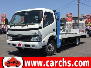 トヨタ ダイナトラック  車両運搬車/ナビ・TV/ETC/HID