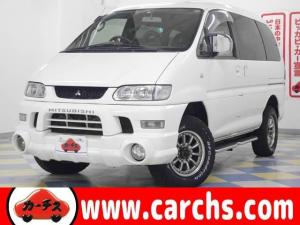 三菱 デリカスペースギア シャモニー 4WD/ナビ/ETC/オートステップ/16インチアルミ/1年保証付き