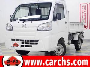 ダイハツ ハイゼットトラック ダンプ 4WD/電動式なアイドリング状態でダンプ操作可能/1年保証付き/