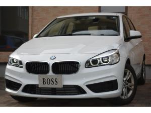 BMW 2シリーズ 218dアクティブツアラー ワンオーナー・ユーザー買取・インテリジェントセーフティ・純正ナビ・Pスタート・アイドリングSTOP・LEDヘッドライト・ETC・LIM・純正16AW・禁煙車・電子式Pブレーキ
