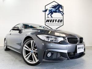 BMW 4シリーズ 420iクーペ Mスポーツ コーラルレッドレザー レーンディパーチャー シートヒーター オプション19インチAW HDDナビ Bluetooth バックモニター ETC ポテンザ