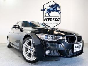 BMW 3シリーズ 320d Mスポーツ Mスポーツエアロ 純正HDDナビ バックカメラ Bluetooth 純正18インチAW プッシュスタート メモリーパワーシート LEDライト 過去記録簿 取扱説明書