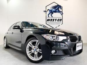 BMW 3シリーズ 320i Mスポーツ 純正エアロバンパー レーンディパーチャー コンフォートアクセス 純正ナビ バックモニター Bluetooth 地デジTV ETC アダプティブヘッドライト オートエアコン パワーシート 純正18AW