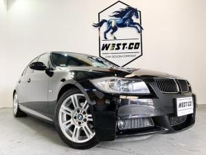 BMW 3シリーズ 320i Mスポーツパッケージ 黒本革シート 社外ナビゲーション バックモニター 純正アルミホイール パワーシート プッシュスタート スペアキーあり ETC 社外レーダー HID
